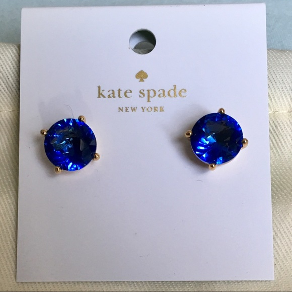5e6073964dfaf 🆕 Kate ♠️ Spade Brilliant Blue Stud Earrings